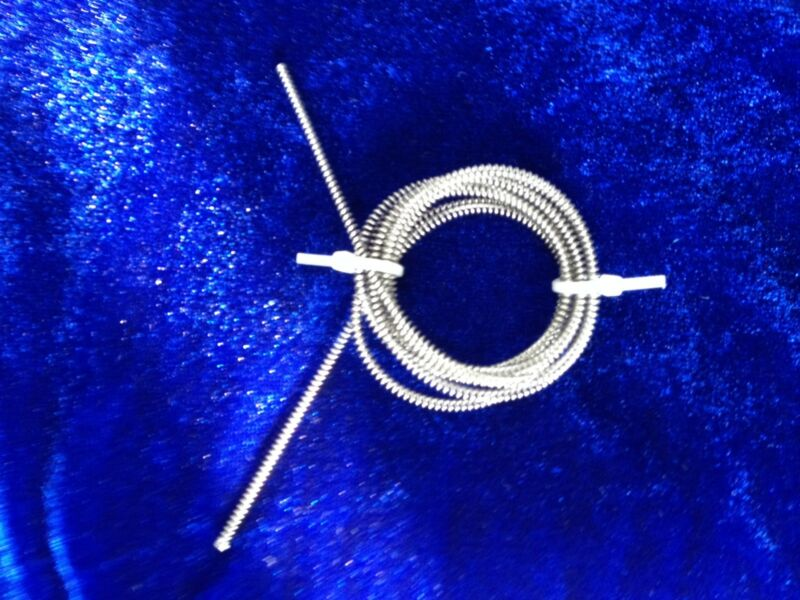 Stainless Steel Spring for Vacuum Degassers, 2,5 mm OD x 0.5 mm, 1 m Long