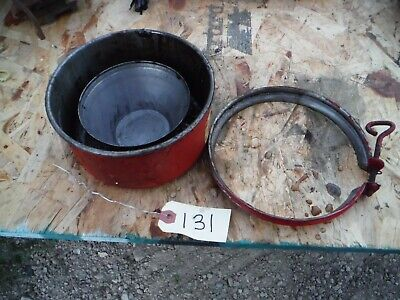 Ih Farmall 400 450 Tractor Air Cleaner Bowl Clamp 131