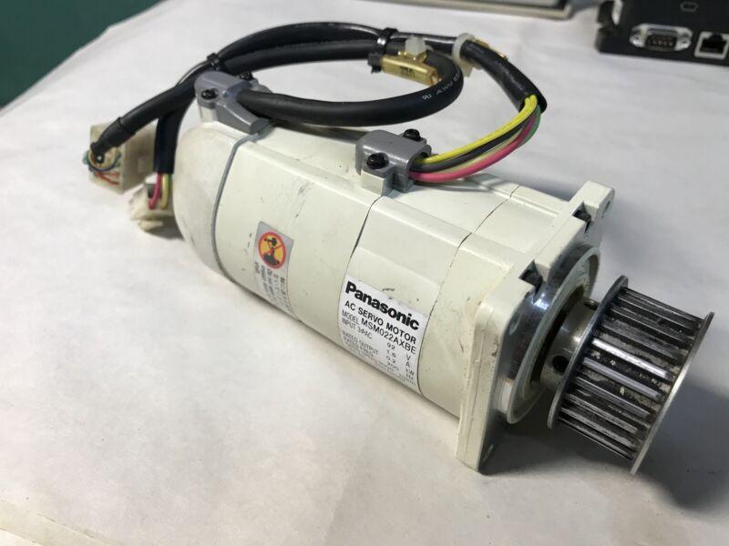 Panasonic Msm022axbe Ac Servo Motor 0.2kw 92v 3000rpm 1.6a Fast Shipping