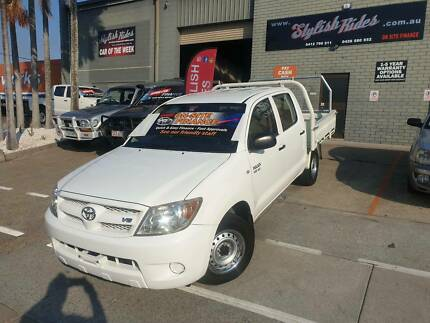 2007 Toyota Hilux Automatic DUALCAB TRAYBACK $9990 FINANCE EASY TODAY Slacks Creek Logan Area Preview