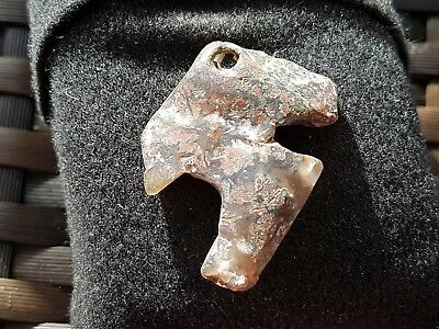 Stunning Pre Colombian Amulet/pendant beautiful ancient artifact wearable L43x