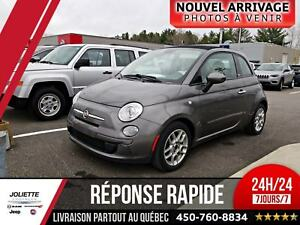 2012 FIAT 500c Pop CONVERTIBLE, AIR CLIMATISER, AUTOMATIQUE.
