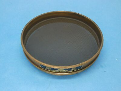 W.s. Tyler 4701 20 Astm Standard Test Sieve 8 Brass Framemesh Half Height