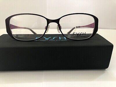 Eyeglasses Klick/ Fysh 3453, Burgandy Pink Women's (Klick Glasses)