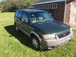REDUCED!!!  Two 2002 Ford Escapes