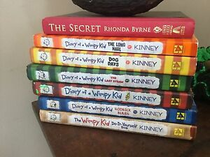 Diary of a Wimpy Kid Books 1,2,3,4,9, do-it-yourself