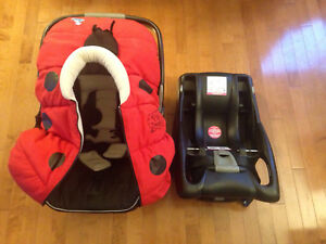 Coquille Britax B-Safe + Base + Coulou hiver