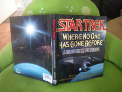 3 STAR TREK BOOKS SCIENCE FICTION MOVIES SCIFI FANTASY STARTREK Maribyrnong Maribyrnong Area Preview