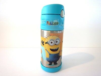 e Boys Girls Youth Toddler 12 oz Thermos Water Bottle  (Dispicable Me Girls)