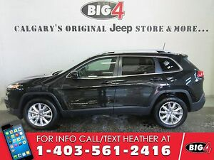 2016 Jeep Cherokee Limited, Leather, NAV, Sunroof