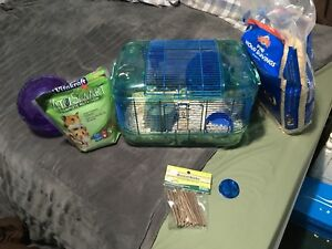 Hamster and hamster accessories