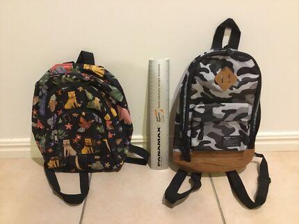 Kids backpacks - 2 in VGC