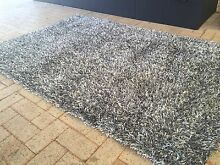Silver/grey and white shaggy rug Ocean Reef Joondalup Area Preview