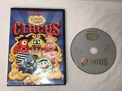 Nickelodeon Yo Gabba Gabba! Circus DVD Kids Family Fun Classic Rare - Yo Gabba Gabba Family