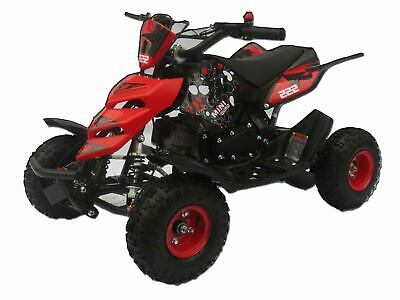 Monster ATV Quad Bike Kids Ride On Mini Moto - 2 Stroke Pocket Bike Petrol 49cc