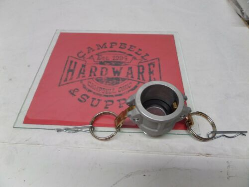 "1"" Camlock Female x 1"" Male Pipe Thread Aluminum with Brass Handles Cam & Groove"