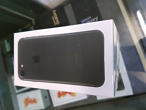 Brand new sealed IPHONE 7 matt black 128gb Campsie Canterbury Area Preview