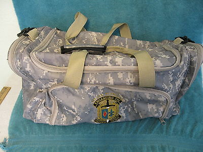 Military Camouflage Travel Bag (item# S744)