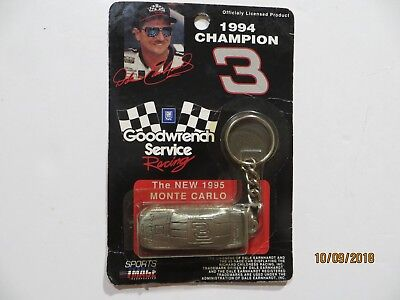 Dale Earnhardt #3 Goodwrench Key Chain 1995 Monte Carlo Sealed Nascar