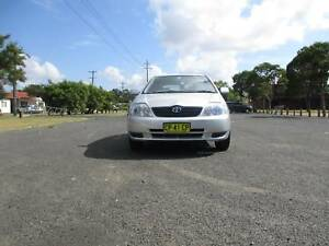 Toyota Corolla 2002 Hatch Manual 1.8Ltr $4500Neg or make an offer