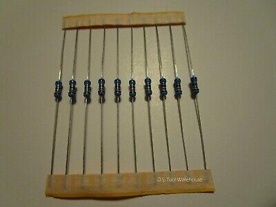 10pcs 1000 Ohm Resistors 1k 14 Watt 1 Shipped From The Usa