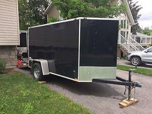 Stealth 5'x5'x10 + 2' v nose trailer
