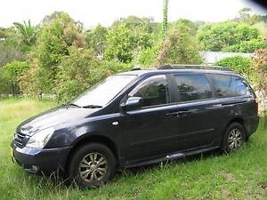 2008 Kia Grand Carnival Wagon Fountaindale Wyong Area Preview