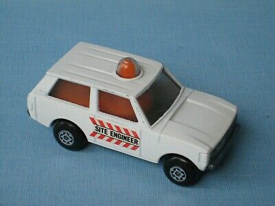 Matchbox 20 Police Patrol Site Engineer Police Rola-Matic Toy Model Car 70mm UB
