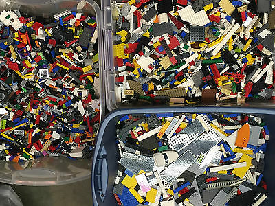 Kyпить Lego 1-99 Pounds LBS Legos Pieces HUGE BULK LOT bricks building blocks w/Minifig на еВаy.соm