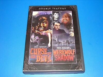 Curse Of The Devil  Werewolf Shadow  Double Feature  2 Disc  Dvd    Very Good