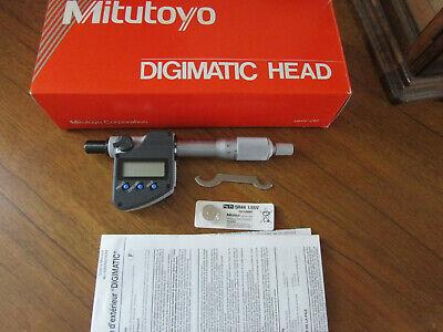Mitutoyo Metric Digimatic Head 350-251-30 Mhn1-25mx Range 0-25mm New In Box