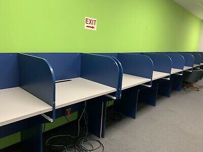 Home Work Station Private Cubical Space Desk Table