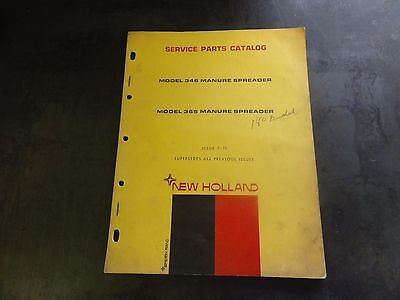 New Holland 346 365 Manure Spreader Service Parts Catalog  7-70