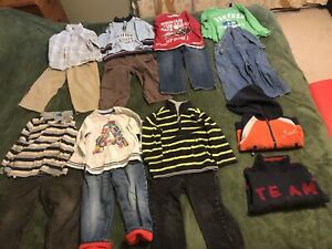58 items of boy cloth 3 years old