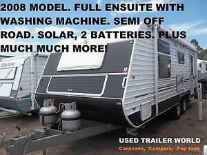 2008 MODEL. 23 FOOT ENSUITE CARAVAN. WASHING MACHINE. SOLAR ETC. Heathcote Sutherland Area Preview