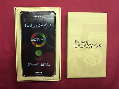 New Samsung Galaxy S5 SM-G900V - 16GB - Black GSM (Unlocked) Verizon