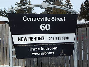 Renovated 3 Bedroom Town homes