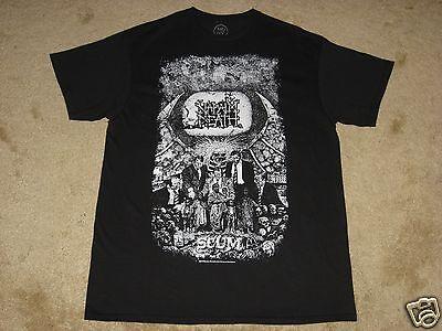 Napalm Death Scum Vintage S, M, L, XL, 2XL Black T-Shirt