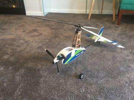 Durafly Auto G2 autogyro gyrocopter with spares