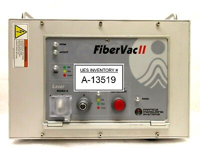 Particle Measuring Systems Fibervac Ii Laser Control Unit Rev. E Used Working