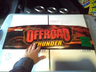 off road thunder arcade marquee #2