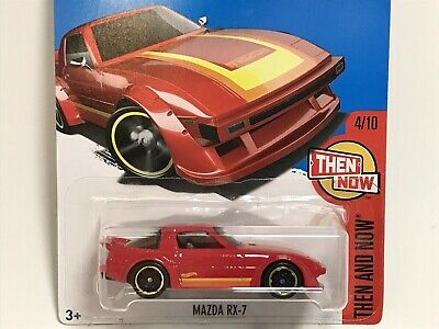 Hot Wheels 2017 HW '78-'85 Mazda RX-7 FB SA22C ROTARY Wankel Kmart Exclusive Red