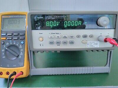Agilent E3640a Programmable Dc Power Supply