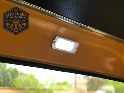 Ford F100 Truck POLISHED Aluminum LED Dome Light 1967 1968 1969 1970 1971 1972