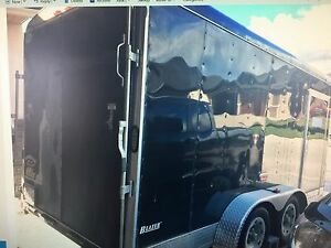 CARGO MATE 7 X 17 V-NOSE TRAILER -EXCELLENT COND $6500.00