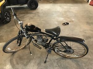 gas bike 2 stroke 80 cc asking 400$
