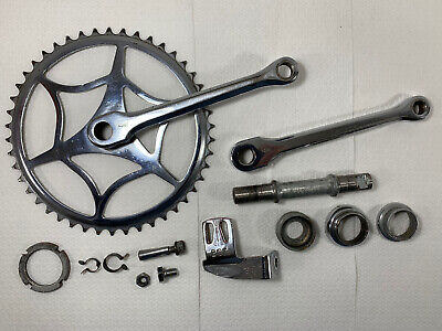 Antique BSA Bicycle Crank and Extra Vintage Parts