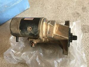 Genuine Toyota Land Cruiser 1hz starter motor 80 series Tumut Tumut Area Preview