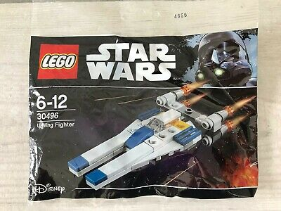 Genuine Lego Star Wars Polybag 30496 Star Wars U-Wing Fighter - Brand New