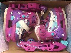 Toddler adjustable Ice Skates/Rollerblades sz8-11